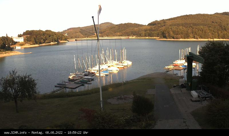 Webcam des Segel-Club Hennesee e.V. Meschede